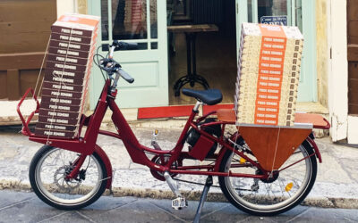 PIZZA DELIVERY BY BIKE
